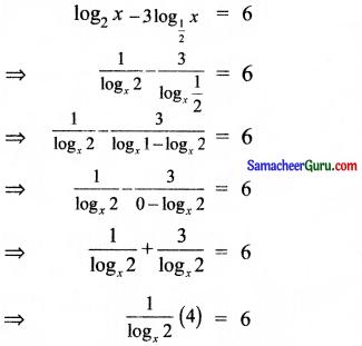 Samacheer Kalvi 11th Maths Solutions Chapter 2 அடிப்படை இயற்கணிதம் Ex 2.12 9