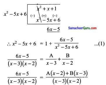 Samacheer Kalvi 11th Maths Solutions Chapter 2 அடிப்படை இயற்கணிதம் Ex 2.9 10