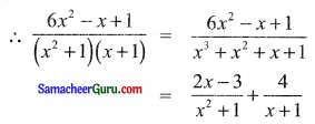 Samacheer Kalvi 11th Maths Solutions Chapter 2 அடிப்படை இயற்கணிதம் Ex 2.9 14