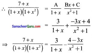 Samacheer Kalvi 11th Maths Solutions Chapter 2 அடிப்படை இயற்கணிதம் Ex 2.9 17