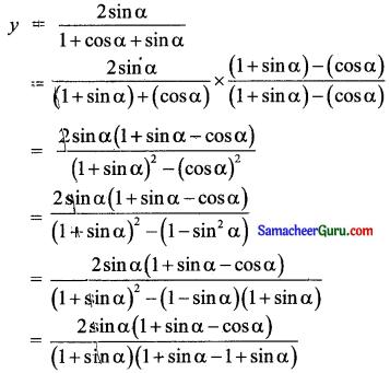 Samacheer Kalvi 11th Maths Solutions Chapter 3 அடிப்படை இயற்கணிதம் Ex 3.1 11