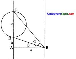 Samacheer Kalvi 11th Maths Solutions Chapter 3 அடிப்படை இயற்கணிதம் Ex 3.11 3