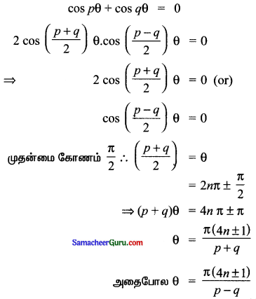 Samacheer Kalvi 11th Maths Solutions Chapter 3 அடிப்படை இயற்கணிதம் Ex 3.12 8