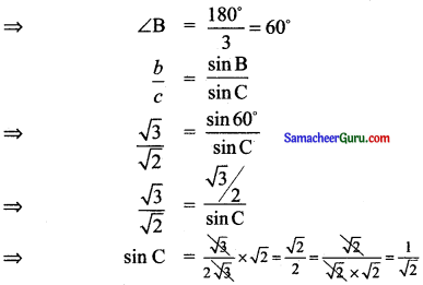 Samacheer Kalvi 11th Maths Solutions Chapter 3 அடிப்படை இயற்கணிதம் Ex 3.9 2