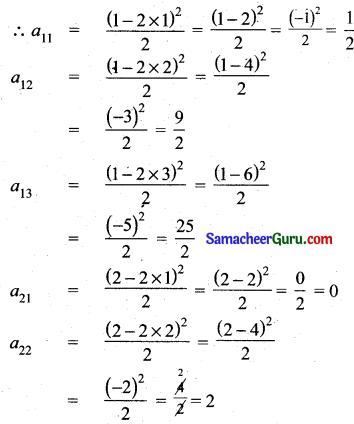Tamilnadu Samacheer Kalvi 11th Maths Solutions Chapter 7 கணங்கள், தொடர்புகள் மற்றும் சார்புகள் Ex 7.1 1