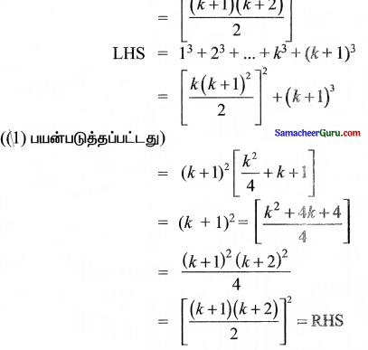 Samacheer Kalvi 11th Maths Solutions Chapter 4 சேர்ப்பியல் மற்றும் கணிதத் தொகுத்தறிதல் Ex 4.4 1