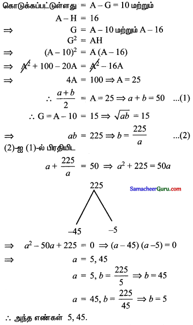 Samacheer Kalvi 11th Maths Solutions Chapter 5 சஈருறுப்புத் தேற்றம், தொடர்முறைகள் மற்றும் தொடர்கள் Ex 5.2 17