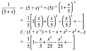 Samacheer Kalvi 11th Maths Solutions Chapter 5 சஈருறுப்புத் தேற்றம், தொடர்முறைகள் மற்றும் தொடர்கள் Ex 5.4 1
