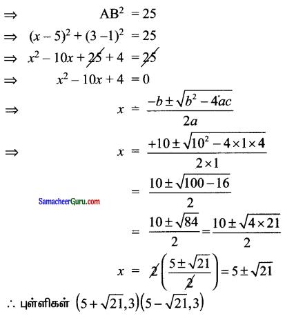 Samacheer Kalvi 11th Maths Solutions Chapter 6 இருபரிமாண பகுமுறை வடிவியல் Ex 6.1 19