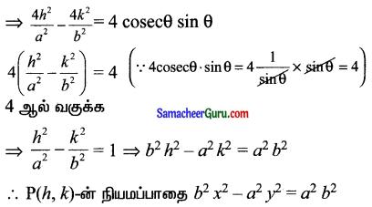 Samacheer Kalvi 11th Maths Solutions Chapter 6 இருபரிமாண பகுமுறை வடிவியல் Ex 6.1 9