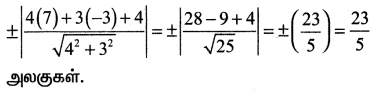 Samacheer Kalvi 11th Maths Solutions Chapter 6 இருபரிமாண பகுமுறை வடிவியல் Ex 6.3 1