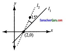 Samacheer Kalvi 11th Maths Solutions Chapter 6 இருபரிமாண பகுமுறை வடிவியல் Ex 6.3 16