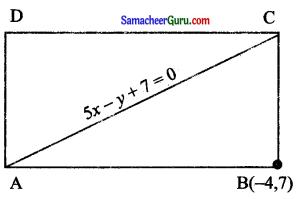 Samacheer Kalvi 11th Maths Solutions Chapter 6 இருபரிமாண பகுமுறை வடிவியல் Ex 6.3 2