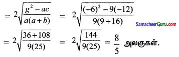 Samacheer Kalvi 11th Maths Solutions Chapter 6 இருபரிமாண பகுமுறை வடிவியல் Ex 6.4 20