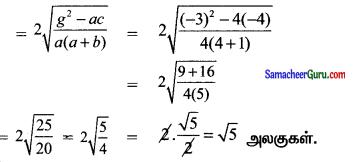 Samacheer Kalvi 11th Maths Solutions Chapter 6 இருபரிமாண பகுமுறை வடிவியல் Ex 6.4 22