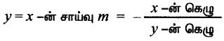 Samacheer Kalvi 11th Maths Solutions Chapter 6 இருபரிமாண பகுமுறை வடிவியல் Ex 6.4 7