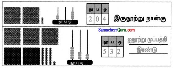 Samacheer Kalvi 3rd Maths Guide Term 1 Chapter 2 எண்கள் 12