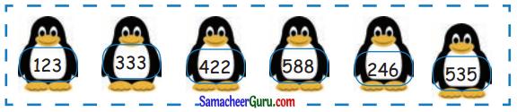 Samacheer Kalvi 3rd Maths Guide Term 1 Chapter 2 எண்கள் 49