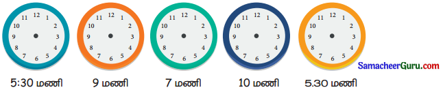 Samacheer Kalvi 3rd Maths Guide Term 1 Chapter 5 காலம் 3