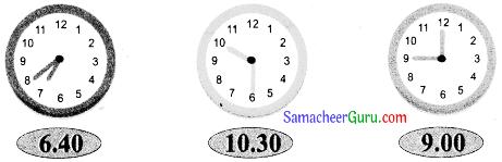 Samacheer Kalvi 3rd Maths Guide Term 1 Chapter 5 காலம் 8