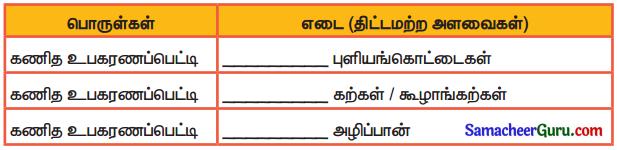 Samacheer Kalvi 3rd Maths Guide Term 2 Chapter 3 அளவைகள் 4