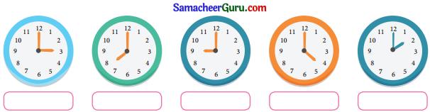 Samacheer Kalvi 3rd Maths Guide Term 2 Chapter 4 காலம் 2
