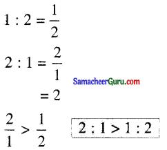Samacheer Kalvi 6th Maths Guide Term 1 Chapter 3 விகிதம் மற்றும் விகித சமம் Ex 3.2 5