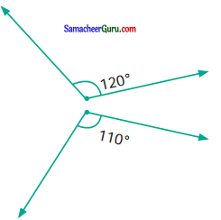 Samacheer Kalvi 6th Maths Guide Term 1 Chapter 4 வடிவியல் Ex 4.4 27