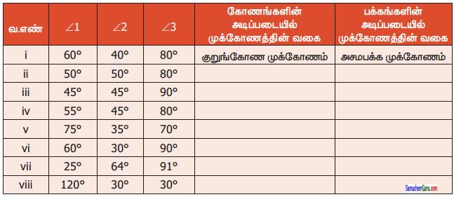 Samacheer Kalvi 6th Maths Guide Term 2 Chapter 4 வடிவியல் Ex 4.1 17