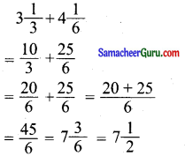 Samacheer Kalvi 6th Maths Guide Term 3 Chapter 1 பின்னங்கள் Ex 1.1 3