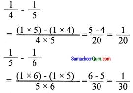 Samacheer Kalvi 6th Maths Guide Term 3 Chapter 1 பின்னங்கள் Ex 1.2 14