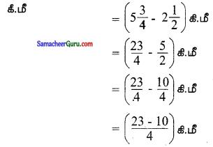 Samacheer Kalvi 6th Maths Guide Term 3 Chapter 1 பின்னங்கள் Ex 1.2 3