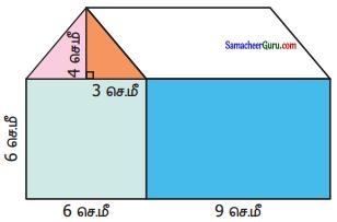 Samacheer Kalvi 6th Maths Guide Term 3 Chapter 3 சுற்றளவு மற்றும் பரப்பளவு Ex 3.2 3