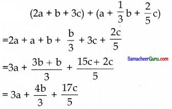 Samacheer Kalvi 7th Maths Guide Term 1 Chapter 3 இயற்கணிதம் Ex 3.4 2