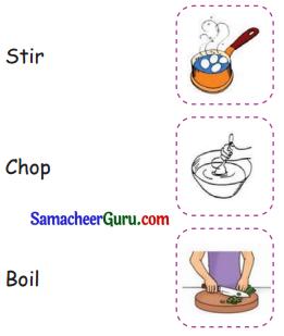 Samacheer Kalvi 3rd English Guide Term 1 Chapter 1 Our Kitchen 32