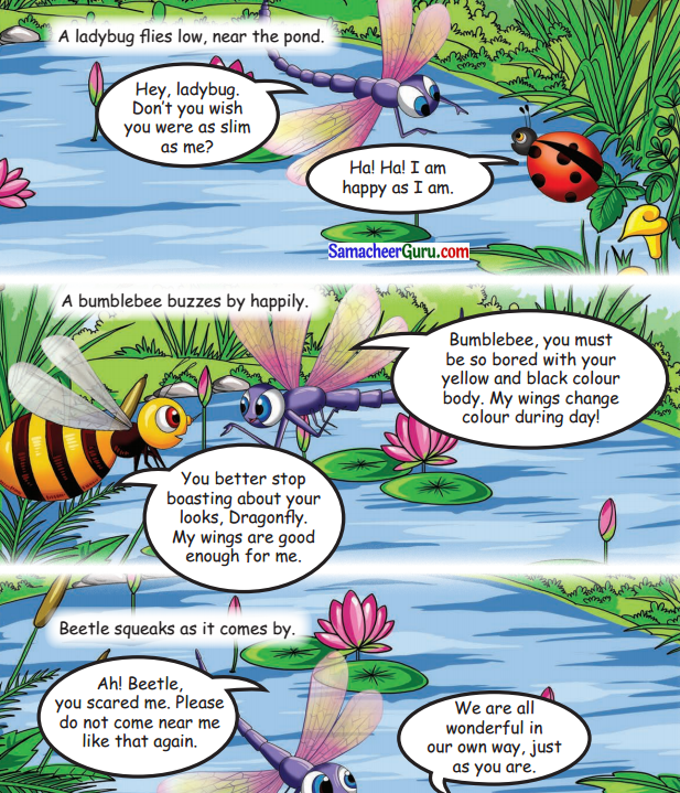 Samacheer Kalvi 3rd English Guide Term 1 Chapter 2 The Insects 52
