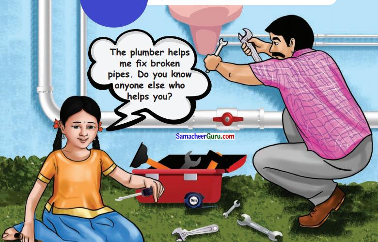 Samacheer Kalvi 3rd English Guide Term 3 Chapter 2 Tools We Use 1