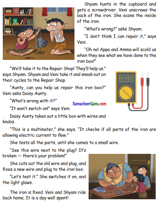 Samacheer Kalvi 3rd English Guide Term 3 Chapter 2 Tools We Use 14
