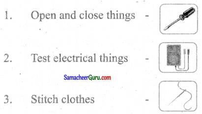 Samacheer Kalvi 3rd English Guide Term 3 Chapter 2 Tools We Use 21
