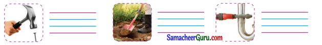 Samacheer Kalvi 3rd English Guide Term 3 Chapter 2 Tools We Use 22