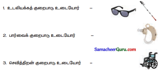 Samacheer Kalvi 3rd Science Guide Term 1 Chapter 1 எனது உடல் 12