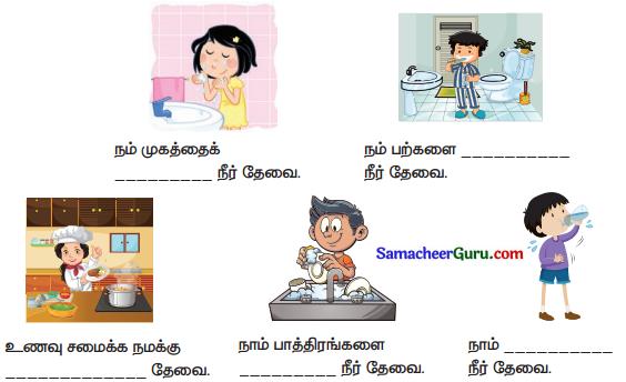 Samacheer Kalvi 3rd Science Guide Term 2 Chapter 2 நீர் 1