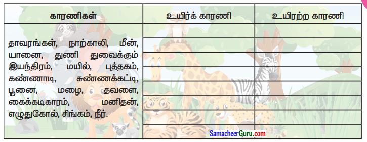 Samacheer Kalvi 3rd Science Guide Term 3 Chapter 1 நமது சுற்றுச்சூழல் 4