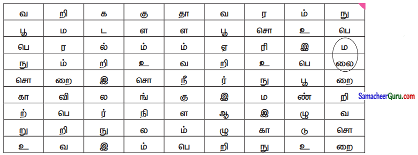 Samacheer Kalvi 3rd Science Guide Term 3 Chapter 1 நமது சுற்றுச்சூழல் 8