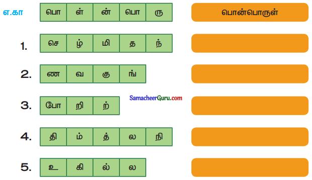 Samacheer Kalvi 3rd Tamil Guide Term 1 Chapter 1 மூன்றாம் வகுப்பு முதல் பருவம் 3