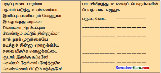 Samacheer Kalvi 3rd tamil Guide Term 2 Chapter 6 எழில் கொஞ்சும் அருவி 4