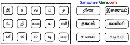 Samacheer Kalvi 3rd tamil Guide Term 3 Chapter 1 உள்ளங்கையில் ஓர் உலகம் 4