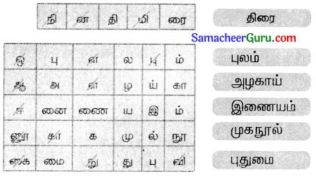 Samacheer Kalvi 3rd tamil Guide Term 3 Chapter 1 உள்ளங்கையில் ஓர் உலகம் 6